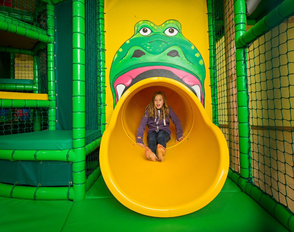 jungle tumbles slide open for winter!